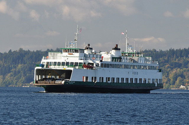 Washington State Ferry from Seattle